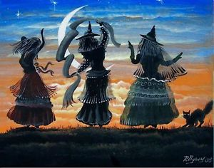 Ron Byrum Witches Dancing