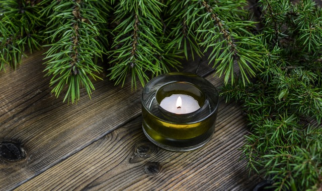 christmas-candle-evergreen